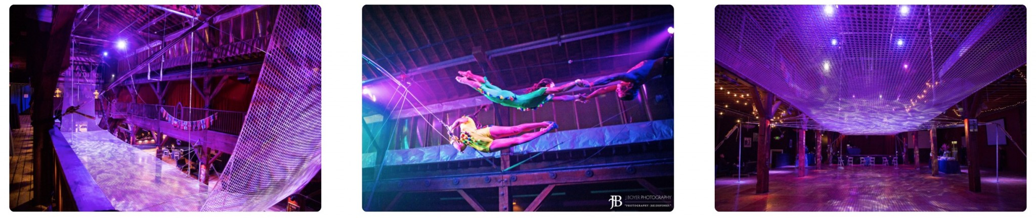 Emerald City Trapeze Arts Performances and Events