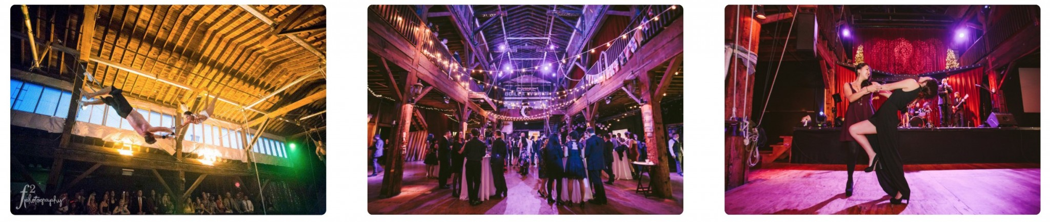 Emerald City Trapeze Arts Weddings and Events in Seattle