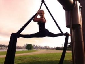 Emerald City Trapeze Instructor Katie