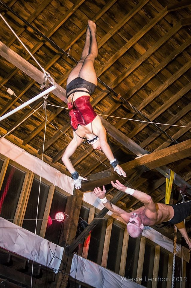 Chelsea Instructor at Emerald City Trapeze