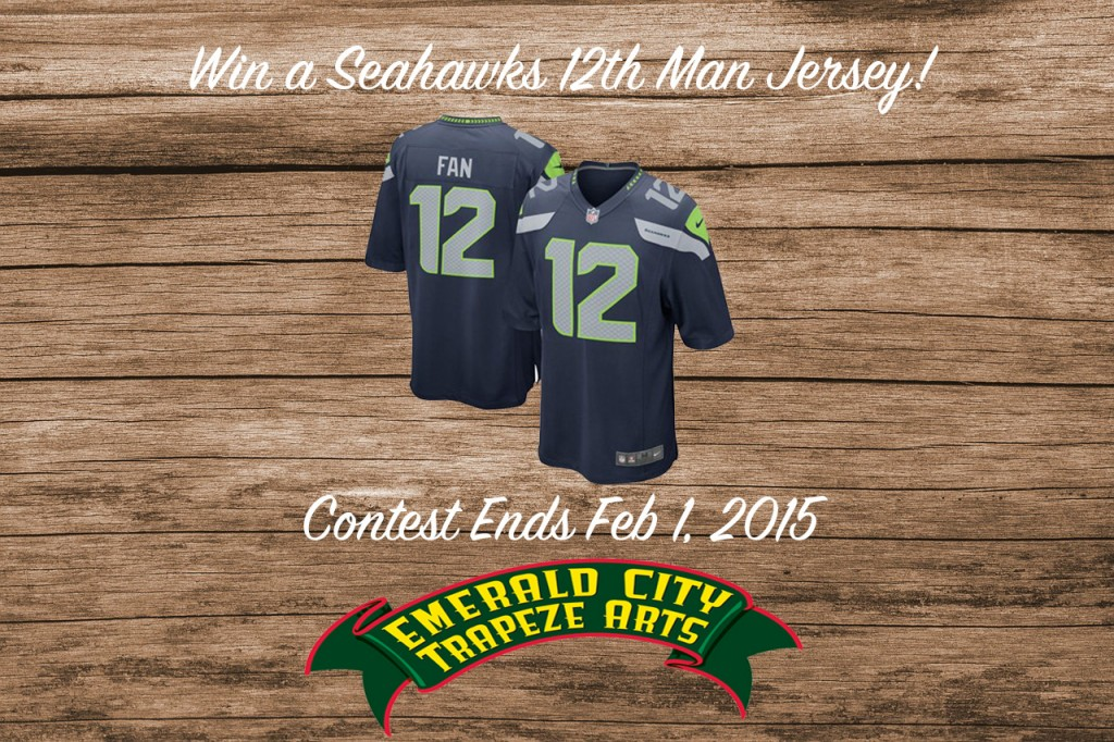 Emerald City Trapeze Seahawks Jersey Giveaway