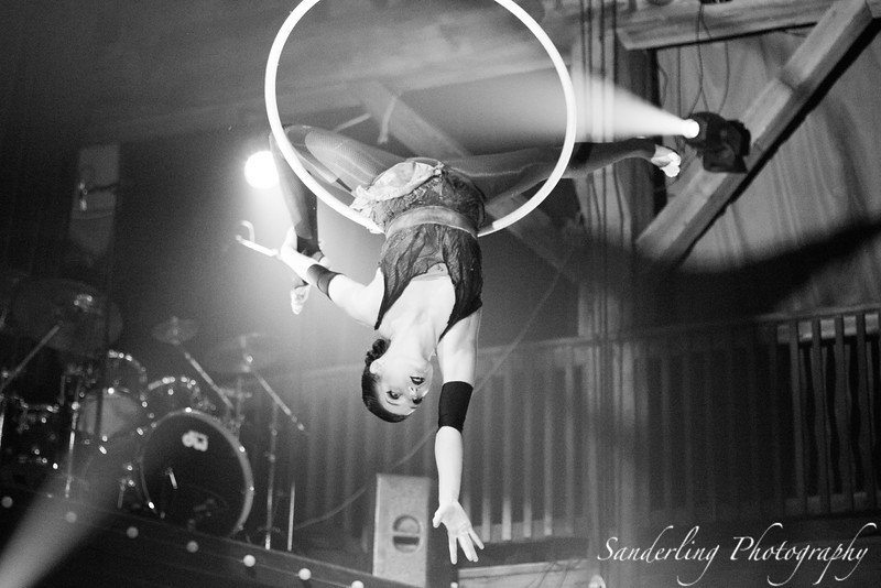 Aerial Hoop at Emerald City Trapeze Arts in Seattle