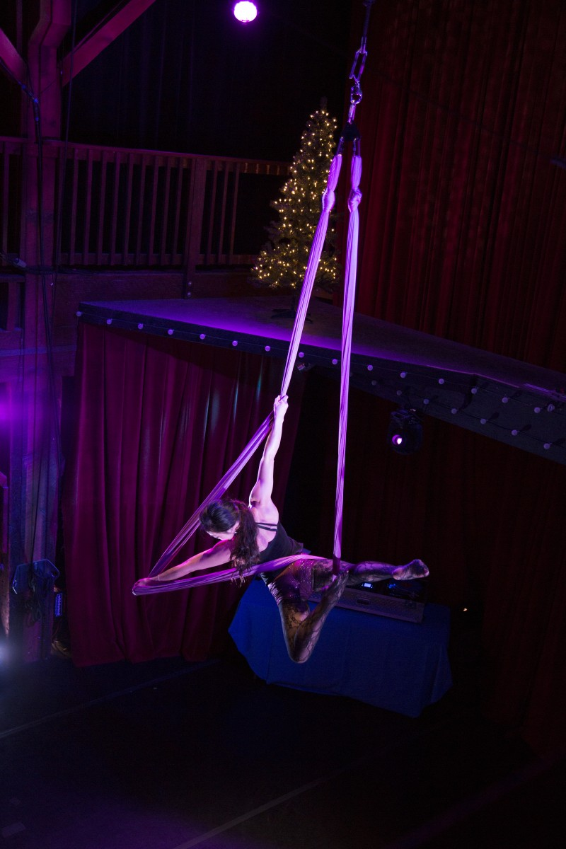 Aerial Arts at Emerald City Trapeze in Seattle
