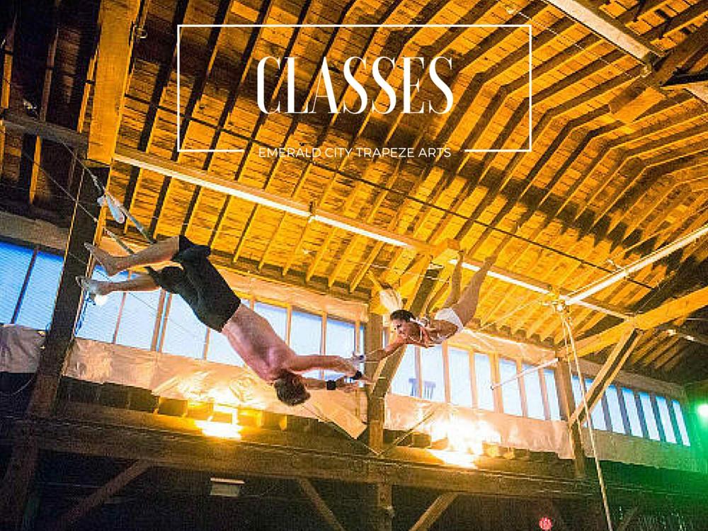 Beginner Flying Trapeze Classes in Seattle