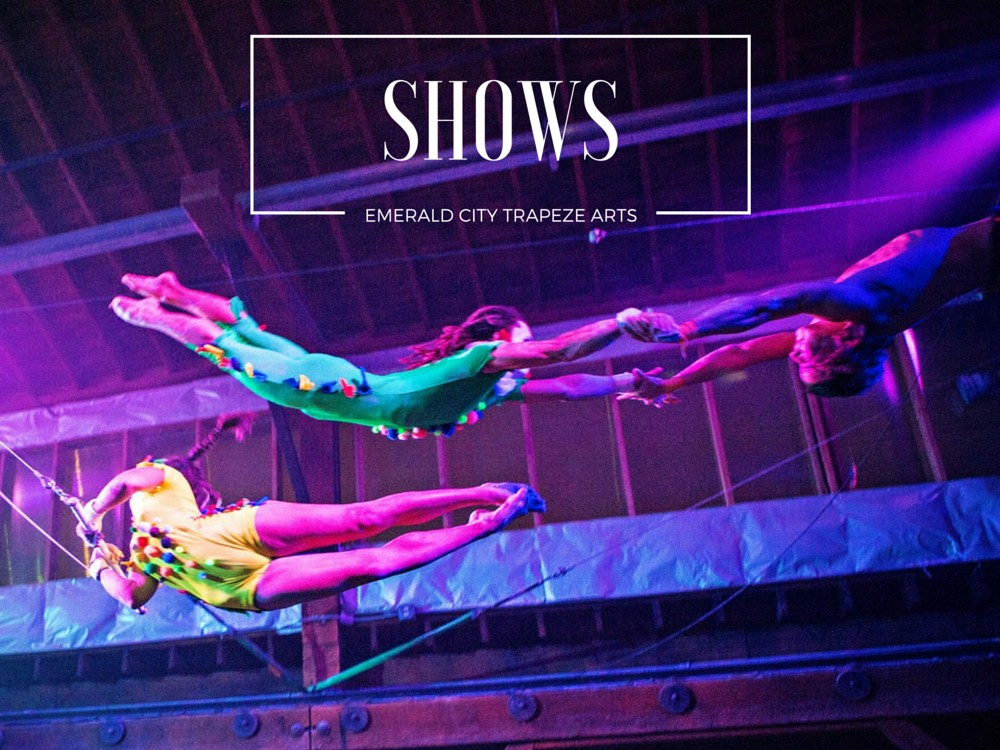 Flying Trapeze, Circus and Aerial Shows in Seattle at Emerald City Trapeze