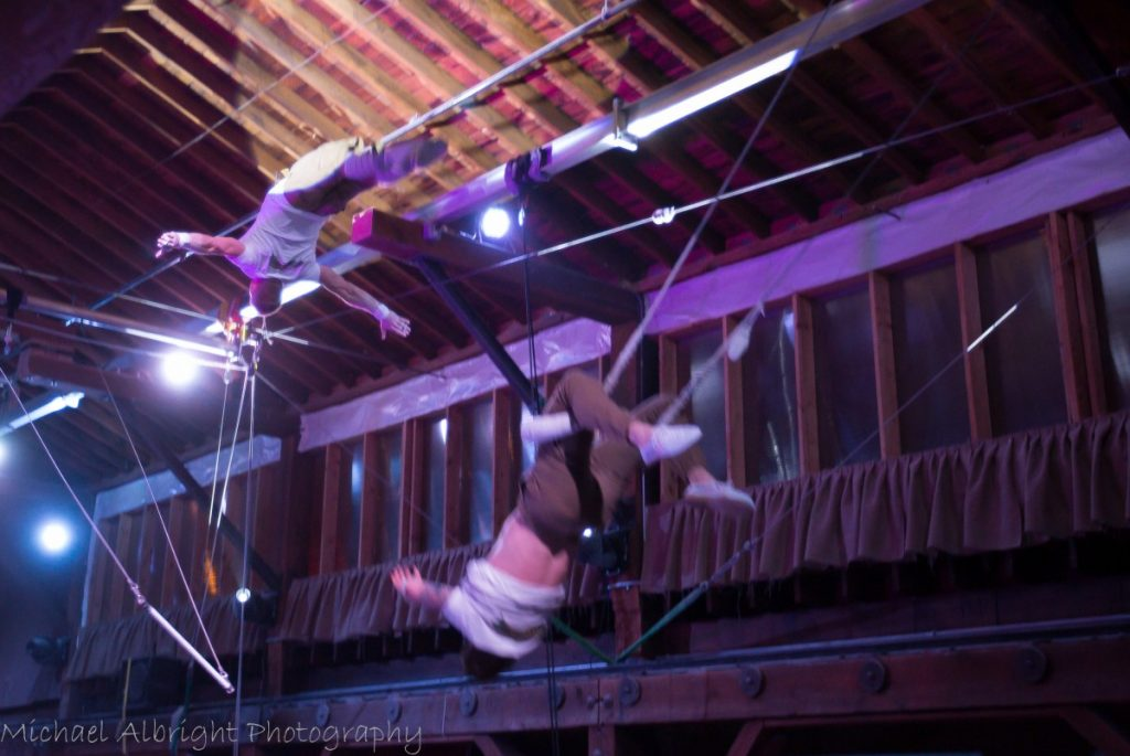 Moving Day - Flying Trapeze and Aerial Show at Emerald City Trapeze - By Michael Albright