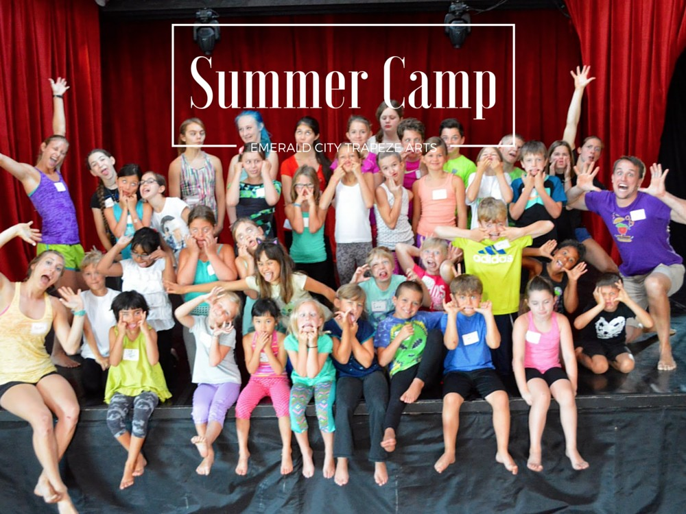 Kids Summer Camps - Circus, Aerial, Flying Trapeze at Emerald City Trapeze