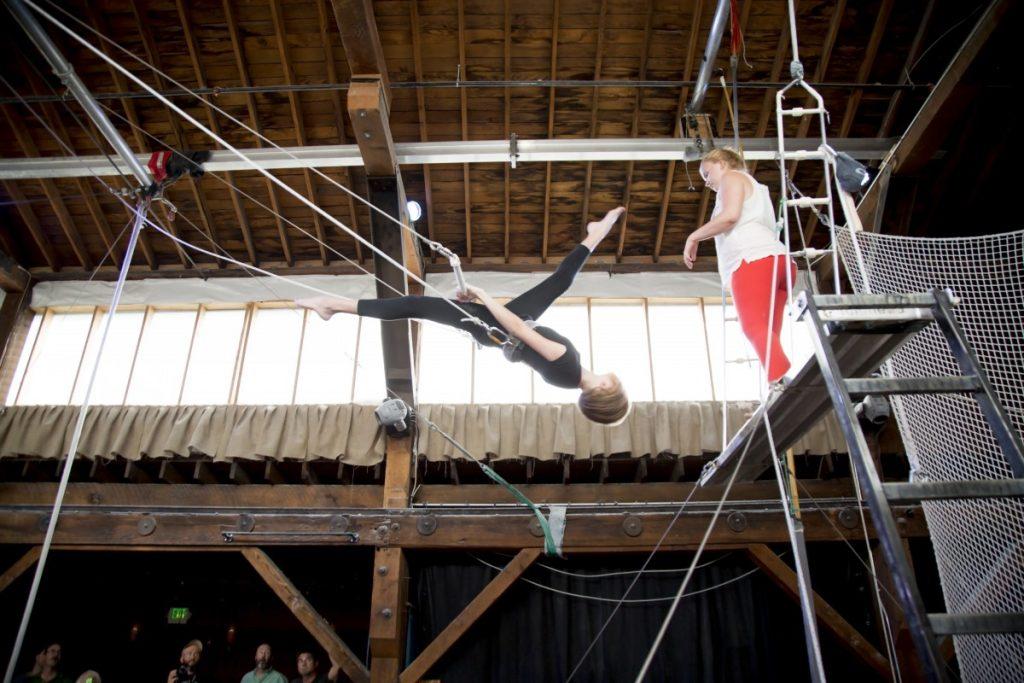 Flying Trapeze Kids Classes Seattle