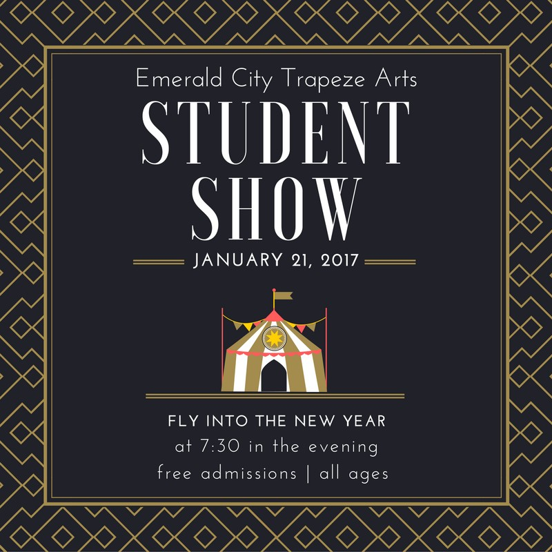 Emerald City Trapeze Student Show 2017