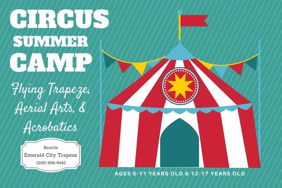 Circus Summer Camp Emerald City Trapeze