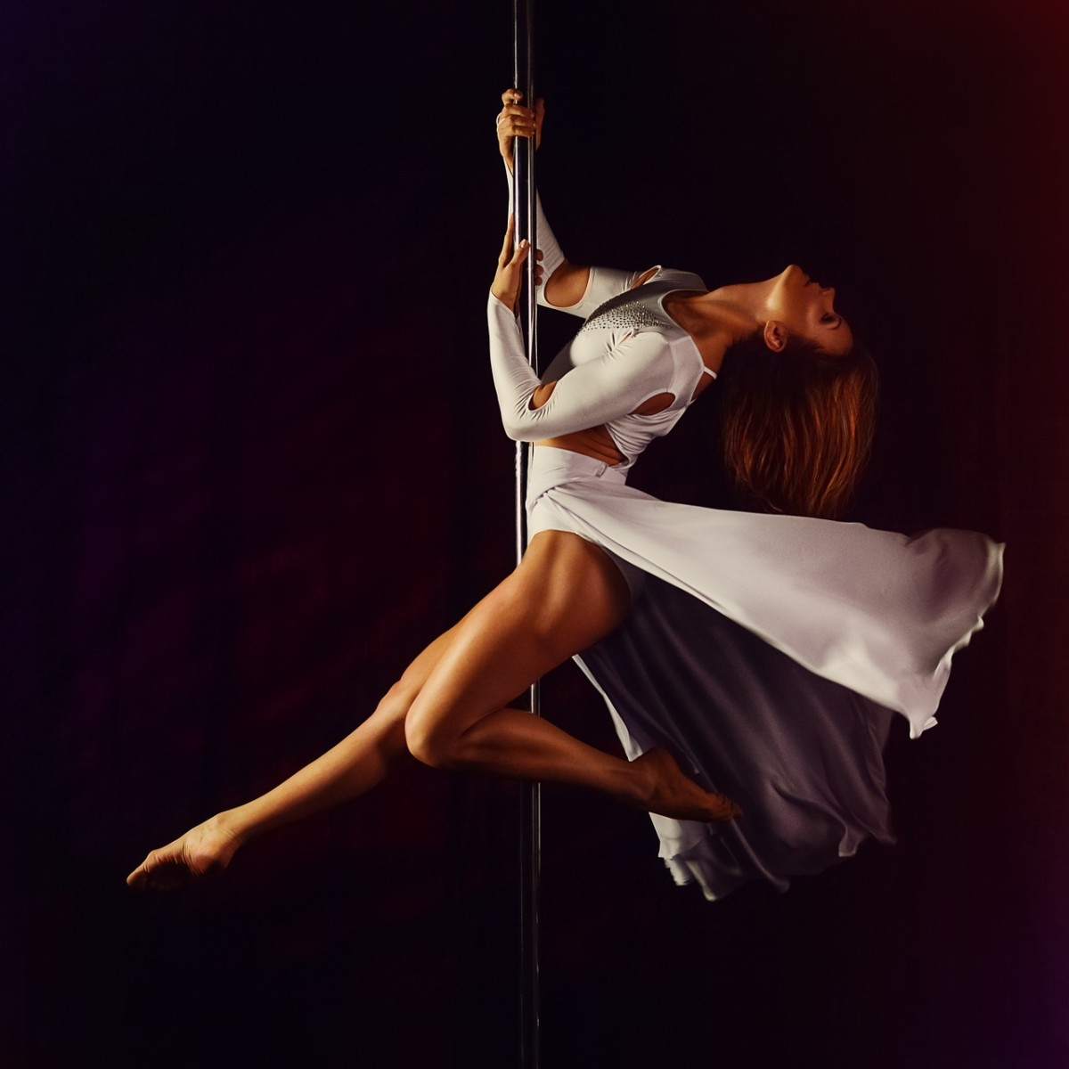 Pole Dancing at Emerald City Trapeze Arts