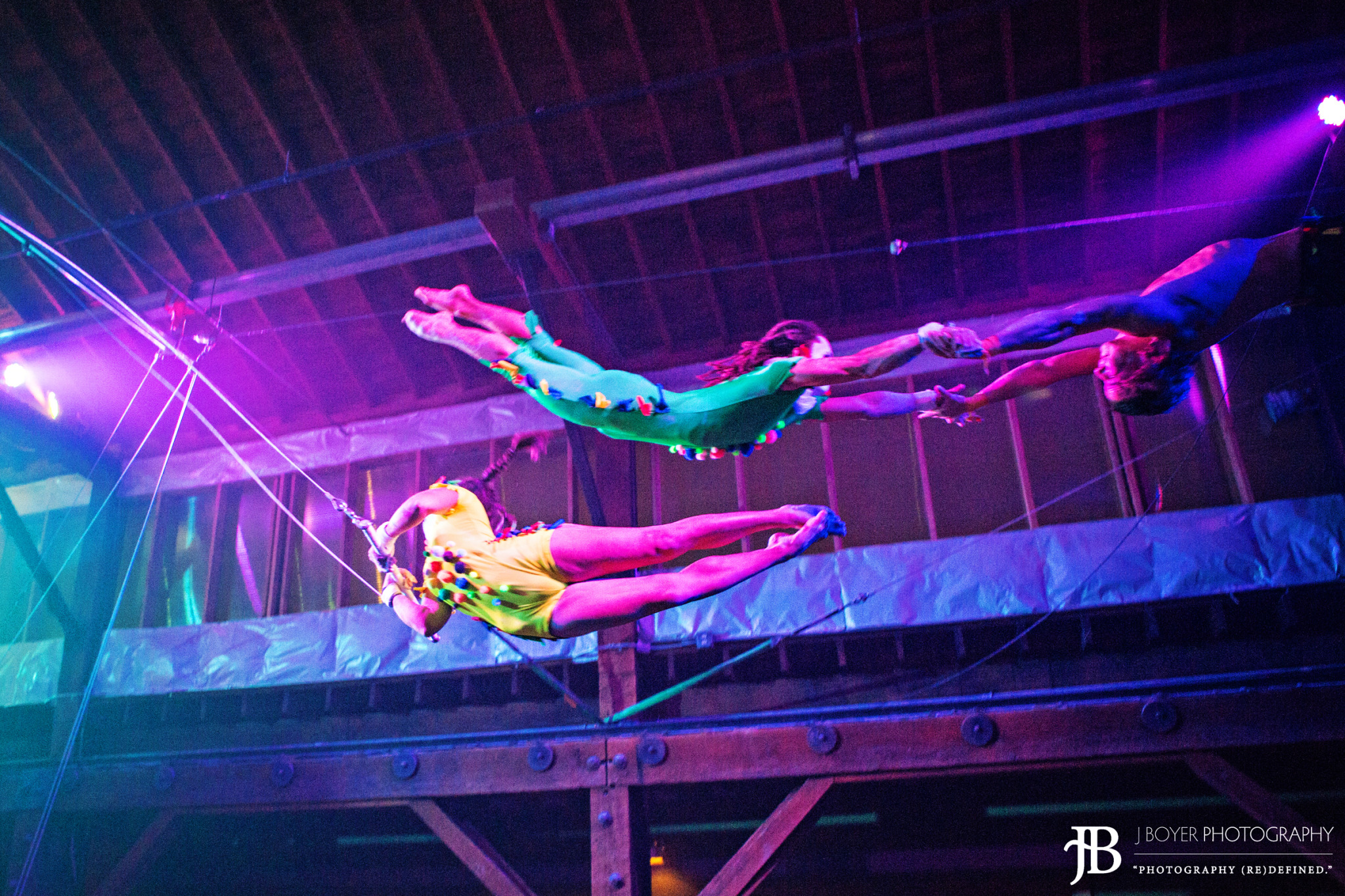 Seattle Flying Trapeze Birthday Parties