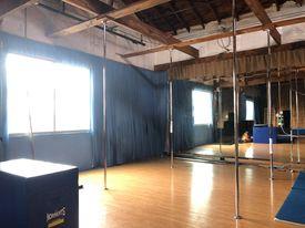 Pole Dancing at Emerald City Trapeze Arts